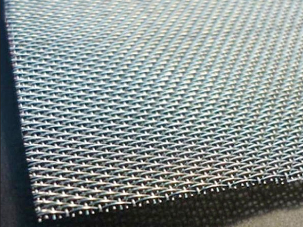 Stainless Steel Five Heddle Weave Mesh